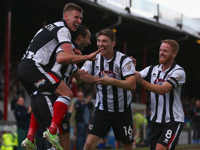 Grimsby are backed to celebrate a successful season