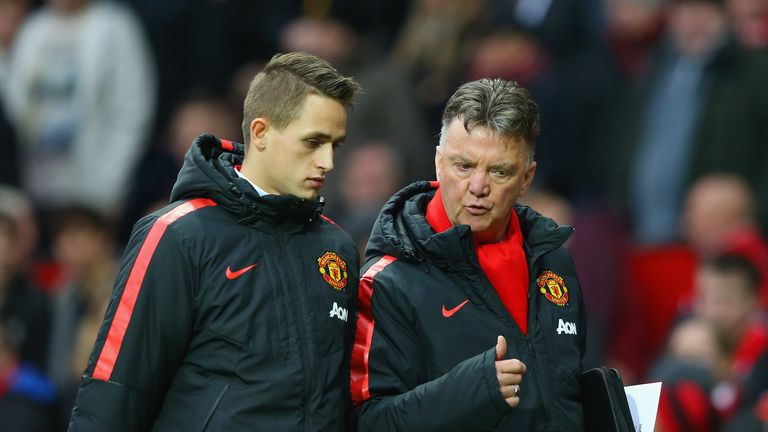Louis van Gaal said he wanted Januzaj to remain at United prior to his move to Dortmund