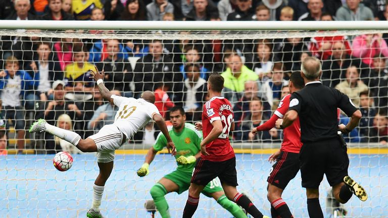 Romero was criticised for his performance in the defeat at Swansea