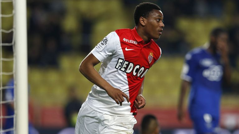 Monaco's Anthony Martial is closing in on a move to Manchester United