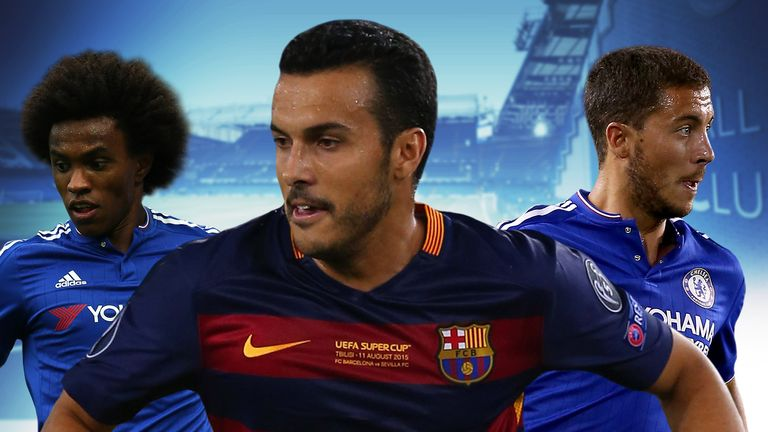 Pedro is on the verge of joining Chelsea from Barcelona