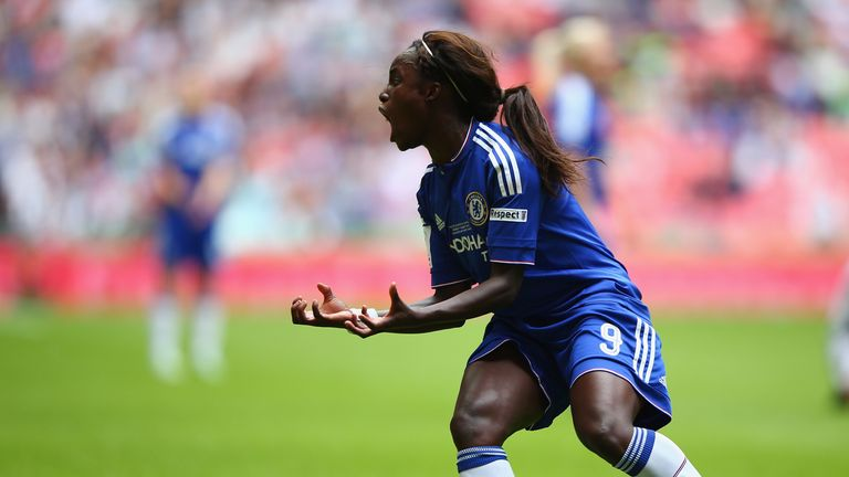 Eni Aluko has been named in the PFA WSL Team of the Year