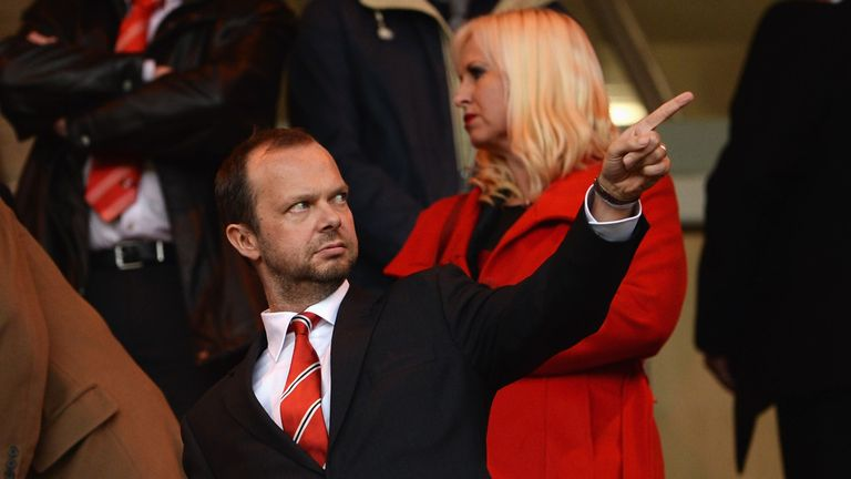 Manchester United's executive vice-chairman Ed Woodward is delighted with the club's financial results