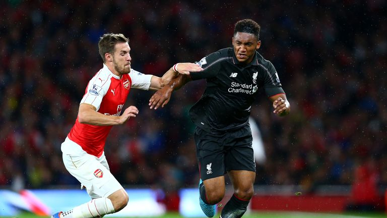 Joe Gomez produced another impressive performance against Arsenal