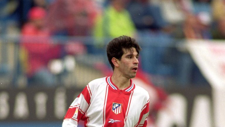 Valeron spent two seasons at Atletico Madrid between 1998 and 2000
