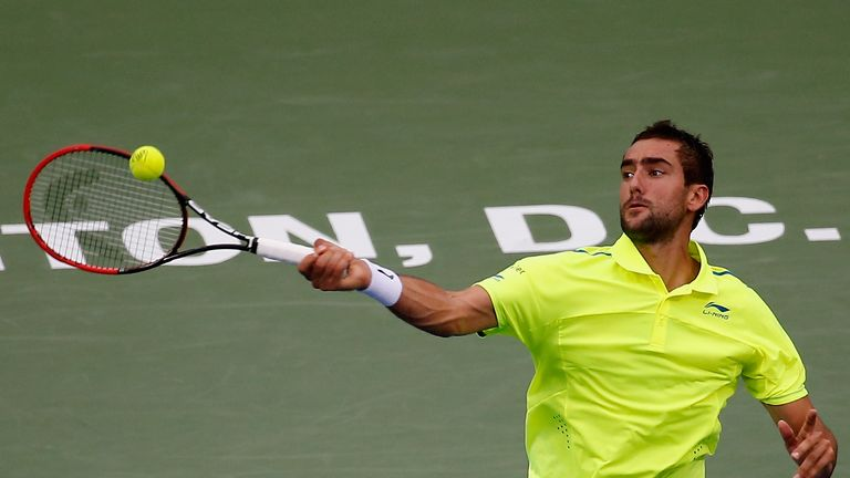 Marin Cilic lost out in the Washington Open semi-final to Kei Nishikori