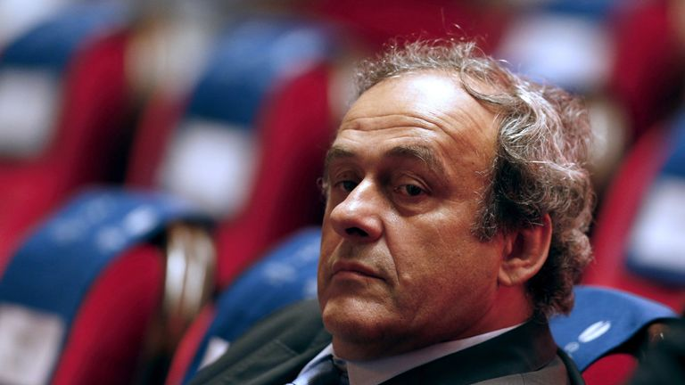 Platini says he was interviewed by the Swiss authorities 'in my capacity as a person providing information'