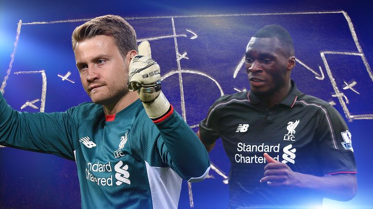 Could Simon Mignolet look to find Christian Benteke this season?