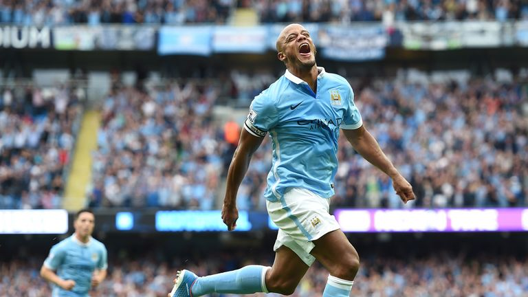 Manchester City captain Vincent Kompany 'is going nowhere'