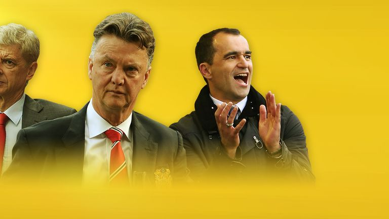 Will Arsene Wenger, Louis van Gaal and Roberto Martinez be involved in any high-profile transfers?