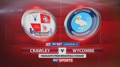 Crawley 0-0 Wycombe