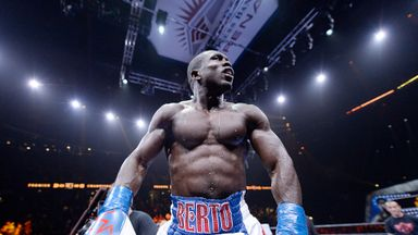 Former champion Andre Berto wants to win for the underdog