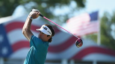 Bubba Watson: Leads the way heading in to the weekend