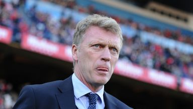 David Moyes saw his Real Sociedad side beaten 3-1 by Malaga on Saturday