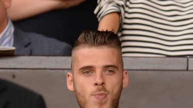 David de Gea has been on the sidelines for Manchester United so far this season