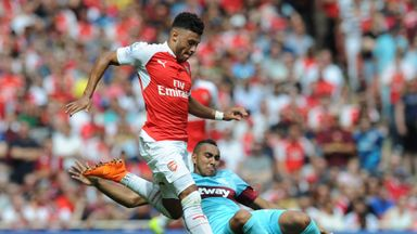 Dimitri Payet enjoyed a fine first competitive game for West Ham against Arsenal