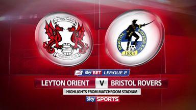 Leyton Orient 2-0 Bristol Rovers