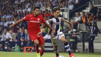 Mark-Jan Fledderus (right) scored Heracles Almelo's winner against PSV