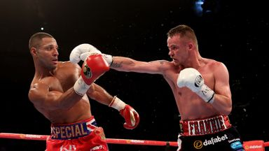 Frankie Gavin fell short in his world title challenge against Kell Brook