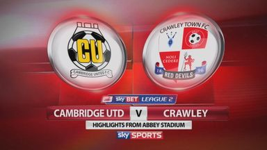 Cambridge 0-3 Crawley