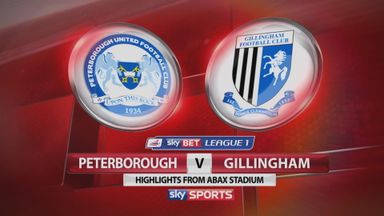Peterborough 1-1 Gillingham