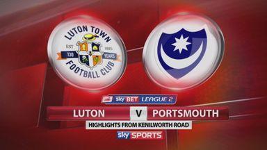 Luton 1-2 Portsmouth
