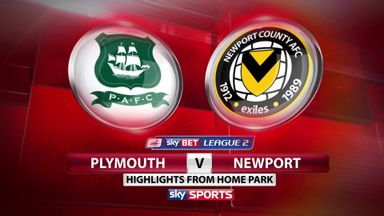 Plymouth 1-0 Newport
