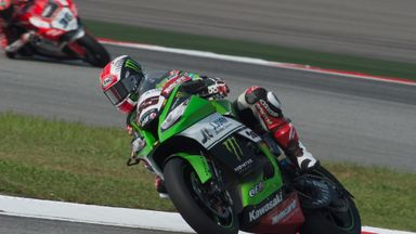 Jonathan Rea enjoyed a fruitful day in Malaysia