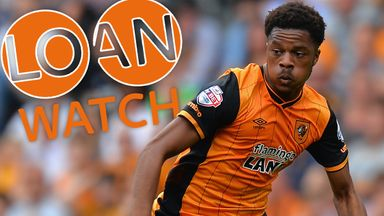 Chuba Akpom has been playing for Hull City on loan from Arsenal
