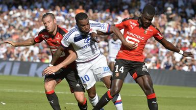 Lyon suffered a 2-1 defeat at home to Rennes