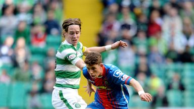 Ryan Christie (right) scored for Inverness against Celtic earlier this season