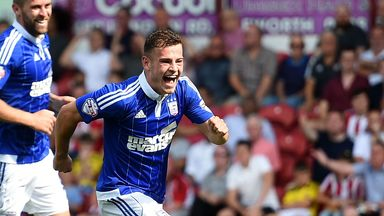 Ryan Fraser: On loan at Ipswich from Bournemouth