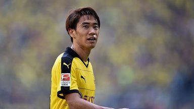 Shinji Kagawa rejoined Dortmund last summer from Manchester United