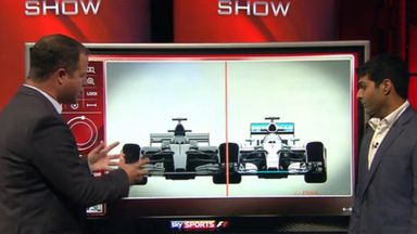 Ted Kravitz and Karun Chandhok explain the changes to the 2017 cars