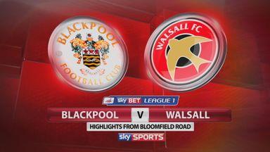Blackpool 0-4 Walsall