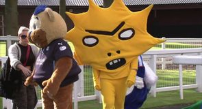 Mascot race ends in controversy