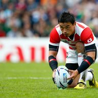 Japan full-back Ayumu Goromaru scored 58 points during their historic Rugby World Cup campaign