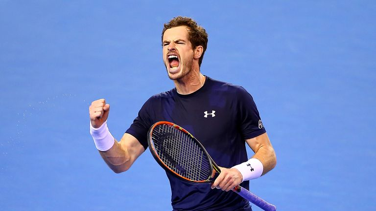Andy Murray: Britain's Davis Cup hero is 64th about the general rich list launched through Forbes