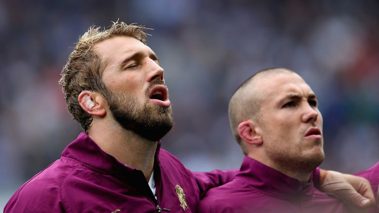 Robshaw is still in contention to retain the role of England captain