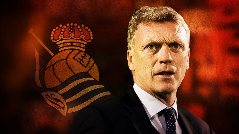 David Moyes: Real Sociedad claimed their first win of the season against Granada