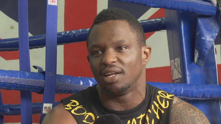 Dillian Whyte is set to face Sam Sexton for the British belt