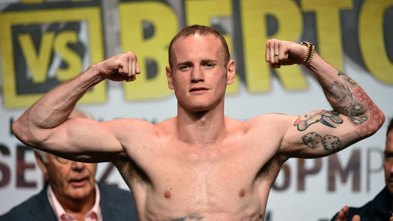 George Groves will return to action in London on January 30
