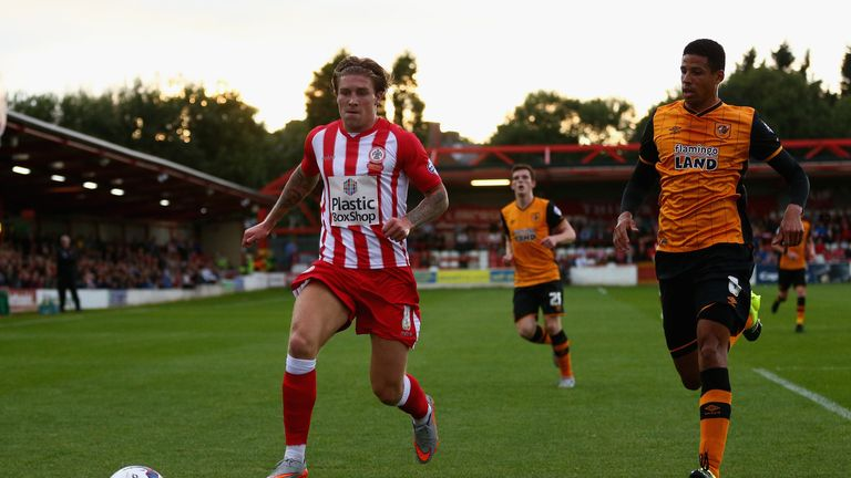 Josh Windass: Not ready for Accrington return on Tuesday night