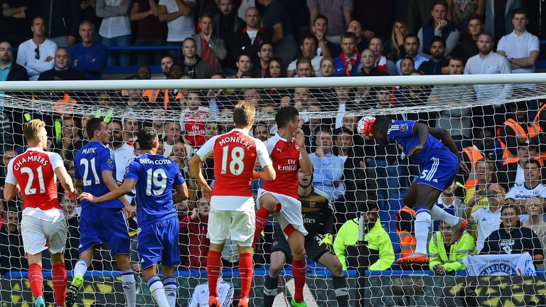 Kurt Zouma exposed Arsenal's aerial weakness at Stamford Bridge