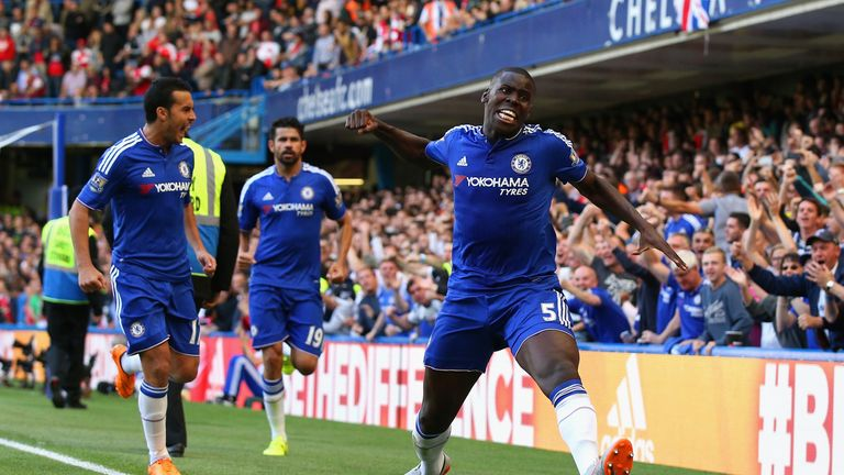 Zouma has won two Premier League titles with Chelsea