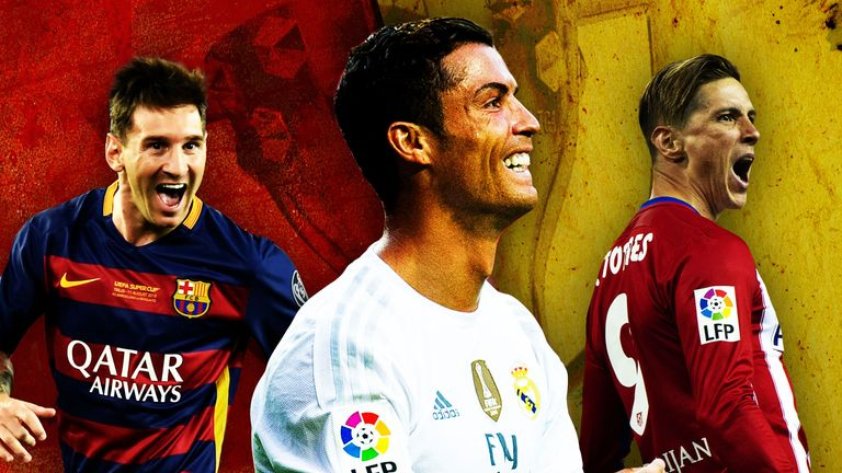 Barcelona, Atletico Madrid and Real Madrid - La Liga title ...