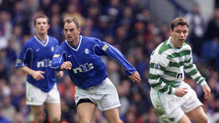 Former Rangers Ronald de Boer defended his brother's comments
