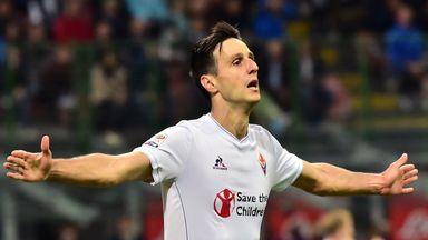 Nikola Kalinic scored a hat-trick against Inter Milan.