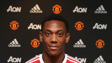 Manchester United have made Anthony Martial the most expensive teenager in football history