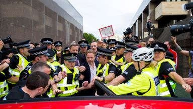 Former Rangers owner Craig Whyte leaves Glasgow Sheriff Court